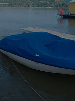 Covers and awnings for boats